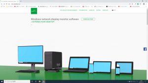 マルチモニタを実現するソフトspacedeskのホームページ