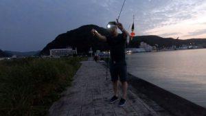 カゴ釣りでカサゴの怪